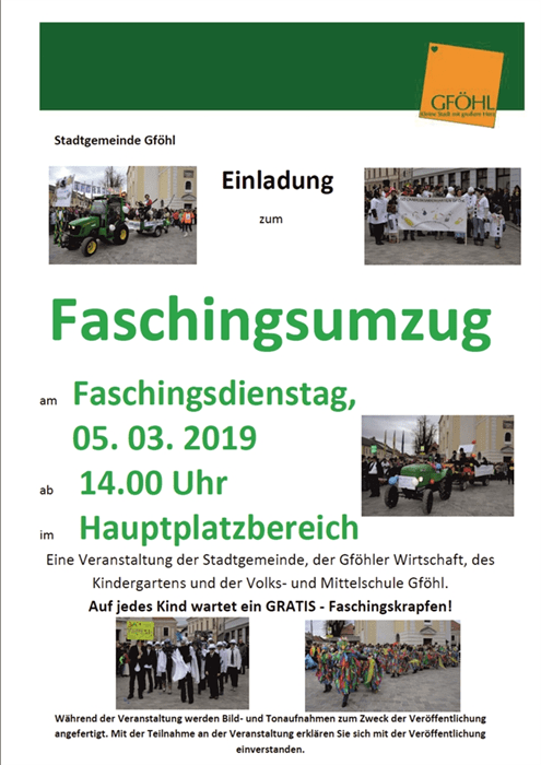 Single-Stammtisch - Stadtgemeinde Gfhl - Gfhl - Tourismus